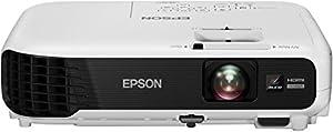 Epson EB-W04 LCD Projektor (WXGA 1280 x 800 Pixel, 3.000 Lumen, 15.000:1 Kontrast)