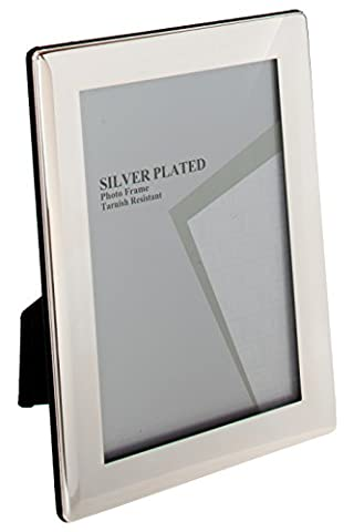Unity 8 x 10-inch Thin Edge Photo Frame, Silver Plated