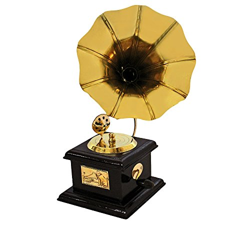 ITOS365 Handmade Vintage Dummy Gramophone Showpiece Only for Home Décor