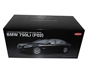 Kyosho - KYOS08781BK - Véhicule Miniature - BMW 750LI- Noir - Echelle 1/18