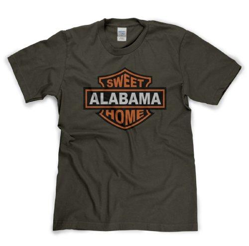 Sweet Home Alabama Classic Rock Musik Legends Retro-T-Shirt Militär-Grün