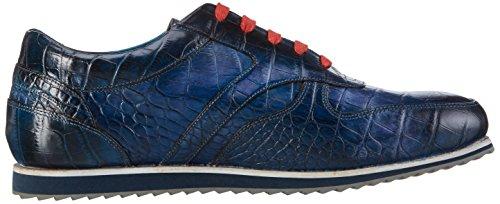 Melvin & Hamilton Niven 3, Sneakers basses homme Bleu - Blau (big Croco Navy/RS)