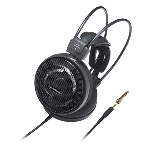 Audio Technica ATH-AD700X On-Ear-Kopfhörer (6,3mm Klinkenstecker) schwarz thumbnail