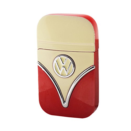 Original Volkswagen Feuerzeug Frontschilddesign in verschiedenen Farben (Gelb-Rot)