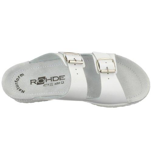 Rohde1432 - Ciabatte donna Bianco