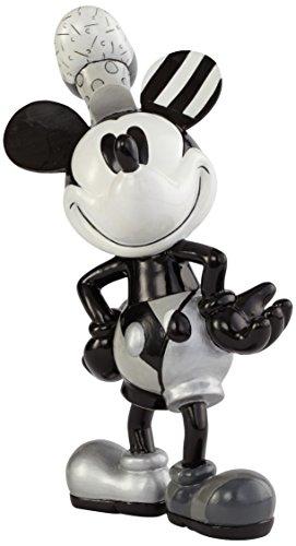 Enesco 4039137 Disney Figurina, Topolino Steamboat Willie, Ceramica, 19,5 cm