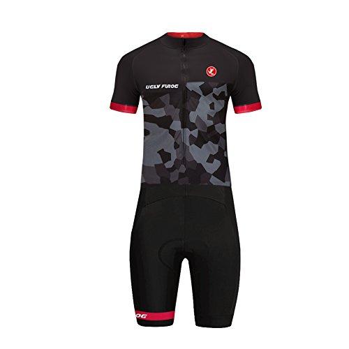 Uglyfrog Radsport Skinsuit 2018 Bike Wear Sommer/Herbst Herren Radanzüge Kurzarm Fahrrad Trikots & Shirts Set Schnelltrocknend Triathlon Bekleidung