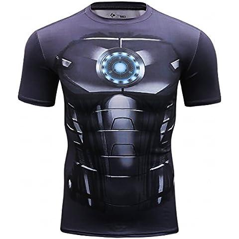 Cody Lundin uomo nero Spider eroe Logo t-shirt Cosplay escursioni
