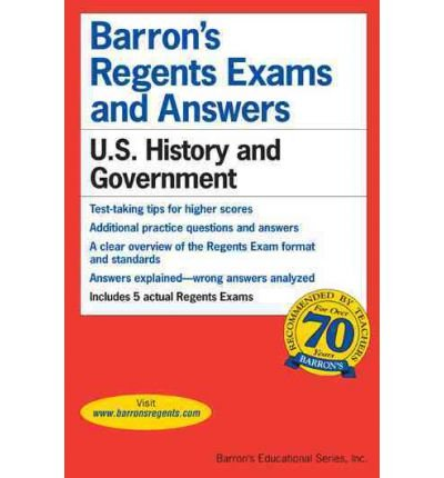 U.S. History and Government (Barron's Regents Exams and Answers) McGeehan, John ( Author ) Dec-01-2011 Paperback