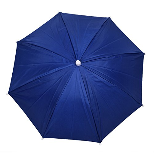 JVSISM Azul Marino Sombrero Paraguas de Poliester de Deportes al Aire Libre de Pesca