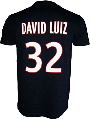 PARIS SAINT GERMAIN T-shirt PSG - David LUIZ - N°32 - Collection officielle Taille enfant garçon 12 ans