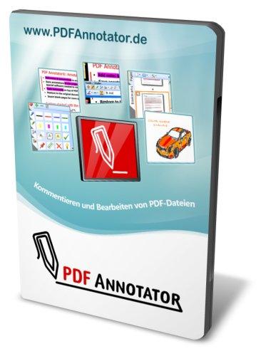 PDF Annotator Studenten-Version - Kommentieren und Bearbeiten von PDF-Dateien - für Windows