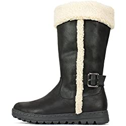Cliffs by White Mountain Kesha, Kaltes Wetter Stiefel Mujeres, Pumps rund, Groesse 8 US /39 EU