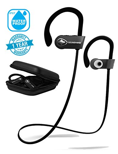 c4493002b66 In Ear Wireless Sport Headphones - SoundWhiz Noise Cancelling Waterproof  Workout Earbuds - w Mic &