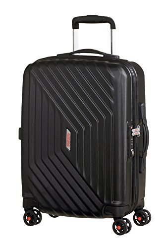 American Tourister Air Force 1 - Maleta, Negro (Galaxy Black), S (55cm-34L)
