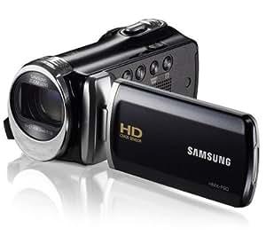HMX-F90 noir - Caméscope + Carte mémoire SDHC Premium Series - 16 Go Classe 10 (LSD16GBBEU200) + Etui nylon DCB-304K