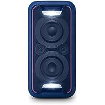 Sony GTKXB5L.CEL - Sistema de audio (extra bass, Bluetooth, NFC, Party Chain, configuración vertical y horizontal con luces), azul