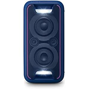 Sony GTKXB5L.CEL - Sistema de Audio (Extra Bass, Bluetooth, NFC, Party Chain, configuración Vertical y Horizontal con Luces), Azul