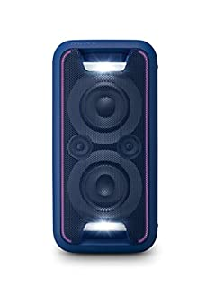 Sony GTKXB5L.CEL - Sistema de Audio (Extra Bass, Bluetooth, NFC, Party Chain, configuración Vertical y Horizontal con Luces), Azul (B01L8C4TRI) | Amazon price tracker / tracking, Amazon price history charts, Amazon price watches, Amazon price drop alerts
