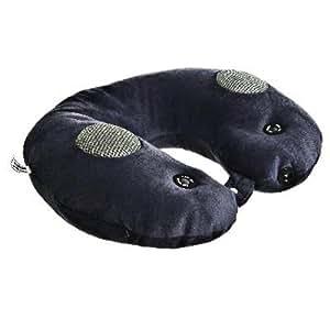 Maison Futée - Coussin de cou massant avec enceintes intégrées pour lecteur mp3