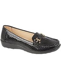 Orthaheel - Sandalias de vestir para mujer negro negro con estampado de serpiente 3 GYpeI