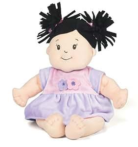 Manhattan Toy 122400 Baby Stella Black Hair