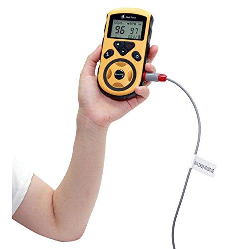 LPY-HealForce Prince-100E Handheld Pulsoximeter, Blutsauerstoffsättigungsmonitor, Für Neugeborene / Erwachsene Herz Monitor , pediatric probes