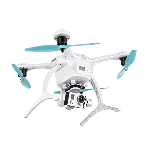 Ehang GHOSTDRONE 2.0 Aerial RC + Quadrocopter mit 3-Achsen Hochpräzisionsgimbal &4K HD Sports Actionkamera, iOS/Android APP Bedienung, 25 Min Flugdauer, Bis zu 1000m Sendebereich,Weiß - 2