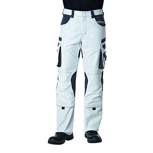 Pionier Bundhose Tools 28 Weiß/Grau