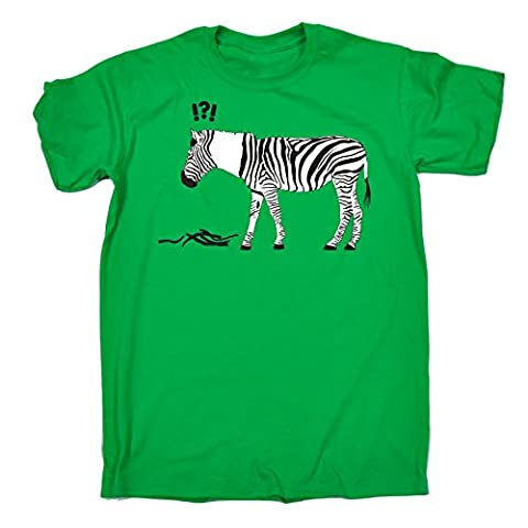 123t Kids Zebra (Age-9-11 - KELLY) KIDS T SHIRT