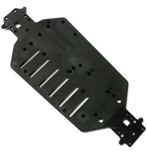 04001 Plastic Black Chassis Plate