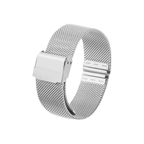 bb637b9823f0 12mm 14mm 16mm 20mm Correa de Reloj Banda de Reloj de Pulsera de Acero  Inoxidable de Malla magnética de Acero Inoxidable Reloj de liberación  rápida ...