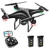 SNAPTAIN SP600 Drohne mit Kamera 720P HD Live Übertragung WiFi FPV RC Quadcopter,120° Weitwinkel, Hochhaltung, 3D VR, 360°Flips, Flugbahnflug, Kopflos Modus, Ideal für Änfanger und Kinder