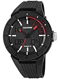 Calypso  watches K5629/2 - Reloj de pulsera hombre, plástico, color negro