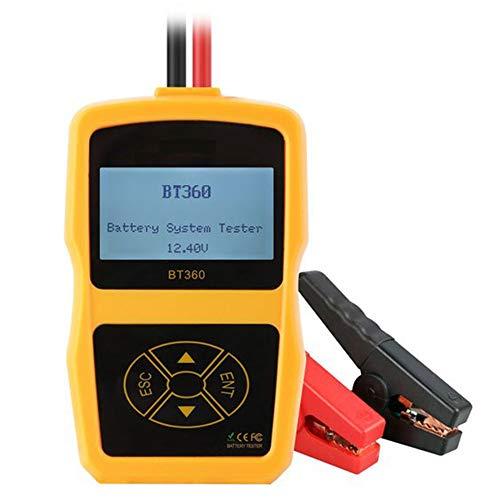 OTO Autobatterie Anlassen Laden Tester Fahrzeug Digital Analyzer 2000CCA 220AH Mehrsprachige Bad Cell Test Tools