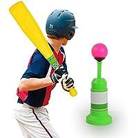 Bate de Béisbol Juguetes Deportes Plastic Baseball Lanzador Automático con Bate y Béisbol para niños Interior o Exterior Sports - CreaTion