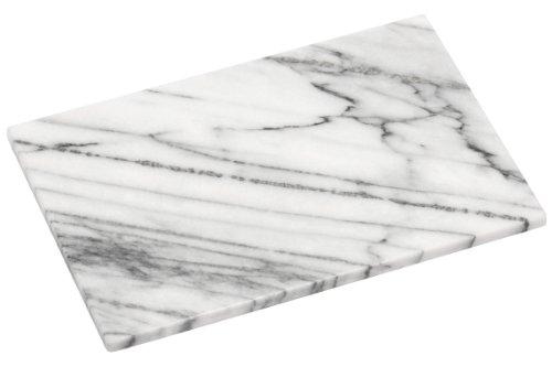Premier Housewares Schneidbrett, 30,5 x 20,5 cm, weißer Marmor, grau, 21x31x2