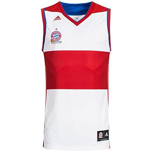 FC Bayern München adidas Basketball Trikot FCB Jersey AH7826