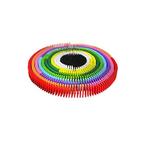 HXGL-Domino Organes Adultes pour Enfants en Bois de Dominos Multicolores de Plus de 3 Ans (Size : M-1000)