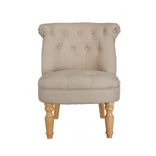 Charlotte Occasional Chair Beige, French Feel