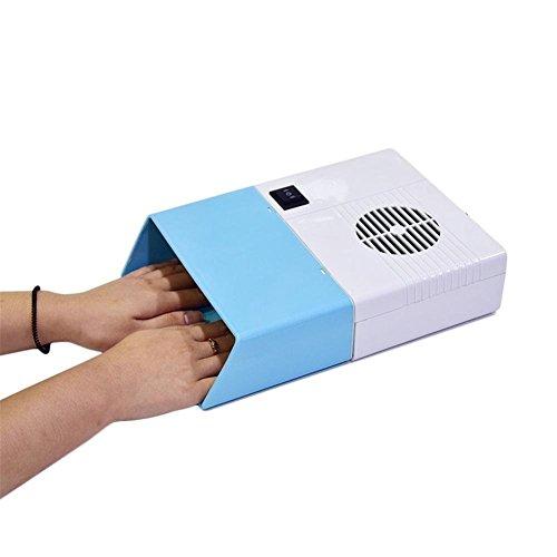 GAIHU Secador de uñas Ventilador Caliente y Frío viento 110W de alta potencia del ventilador de aire de Uñas Manicura Peluquería profesional Herramienta para secar el esmalte de uñas acrílicas