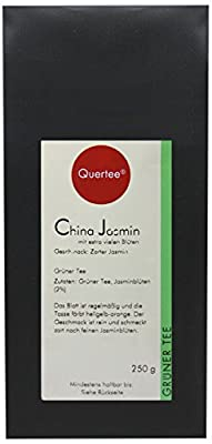 Quertee® - Thé vert – Thé au jasmin de Chine riche en fleurs - 250 g
