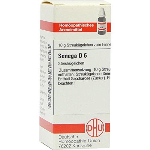 DHU Senega D6, 10 g Globuli