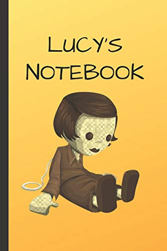 Lucy's Notebook: Doll  Writing 120 pages Notebook Journal -  Small Lined  (6