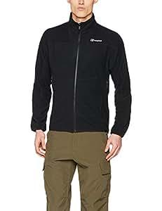 Berghaus Waterproof Spectrum Micro 2.0 Men's Outdoor Fleece Jacket available in Black/Black - Small