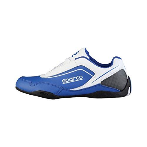 sparco-zapatillas-jerez-blanco-azul-royal-eu-42