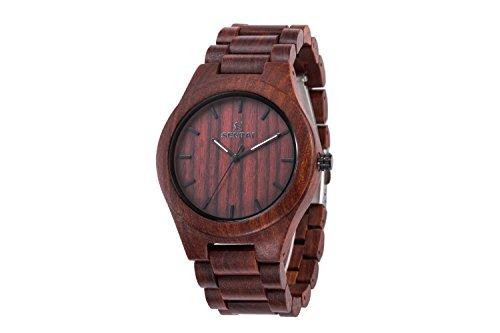 amexi-roma-numero-di-legno-orologio-al-quarzo-mens-size-color-in-red