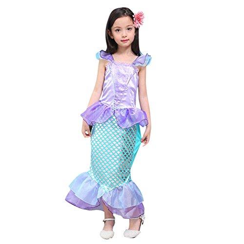 Chic-Chic Costume de Sirène pour Fille Déguisement...