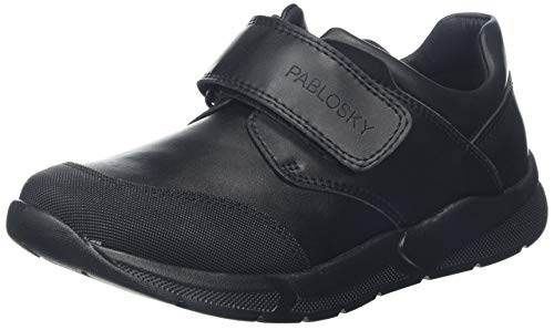 Pablosky 714210, Mocasines Unisex niño, Negro Negro Negro, 28 EU