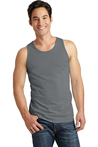 Port & Company pc099tt pigment-dyed Tank Top Zinngrau